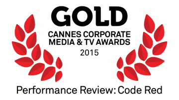 Cannes Award, 2015, Gold, Performance Review Code Red