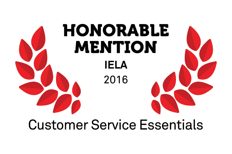 customer service, Honourable Mention for Customer Service Essentials at IELA Awards 2016, Video Arts, Video Arts