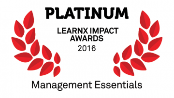 Learnx 2016 Platinum Award