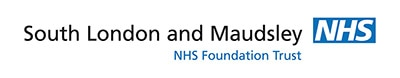 South London and Maudsley NHS Logo